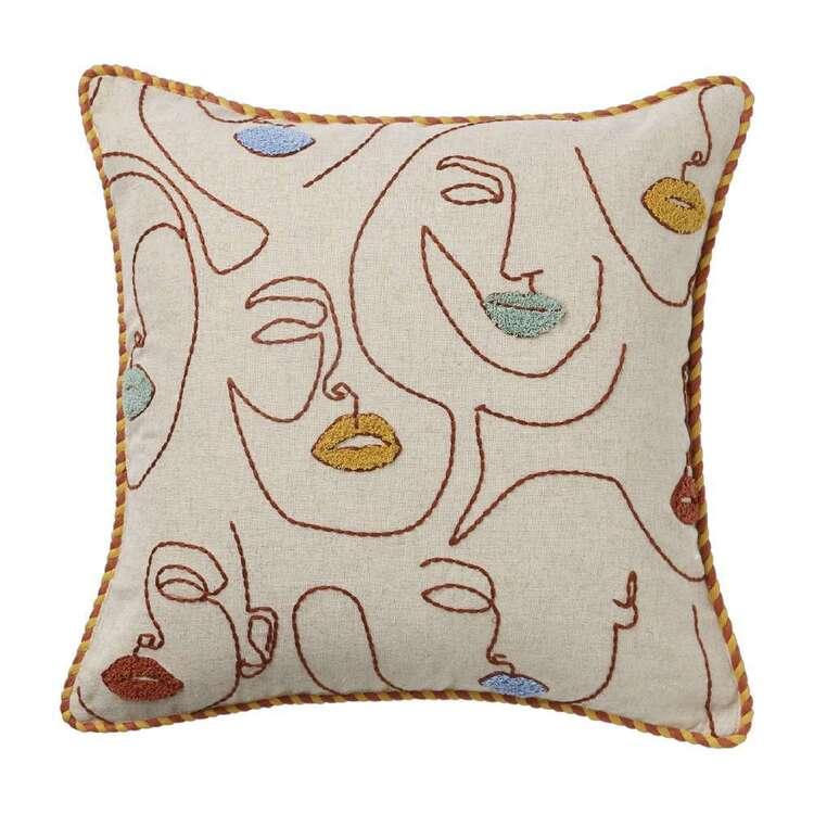 Koo Home Anita Embroidered Cushion