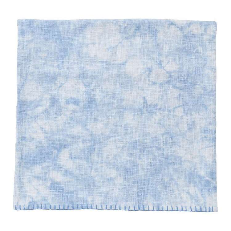 Koo Home Katia Printed Cotton Slub Woven Throw
