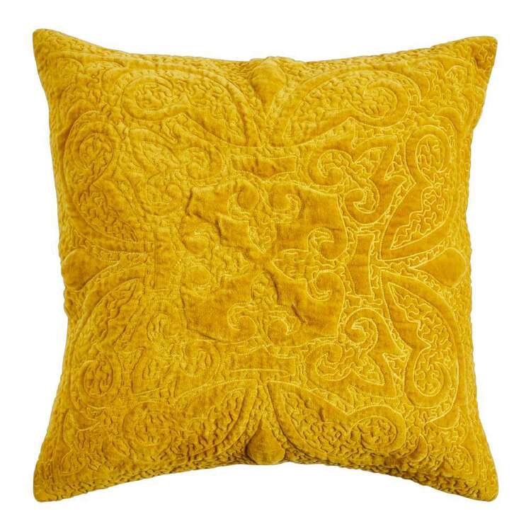 Koo Home Estele Quilted Velvet Cushion