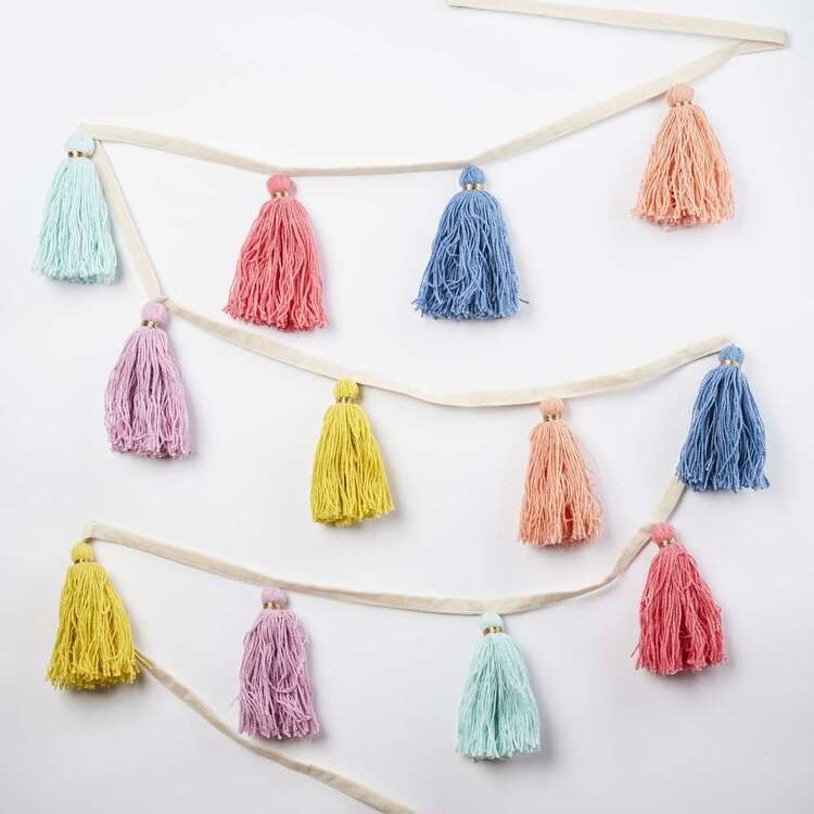 Kids House Tassel Bunting