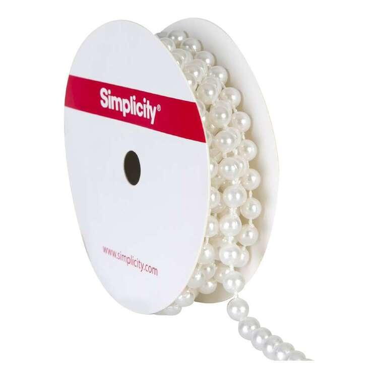 Simplicity Pearls Trim