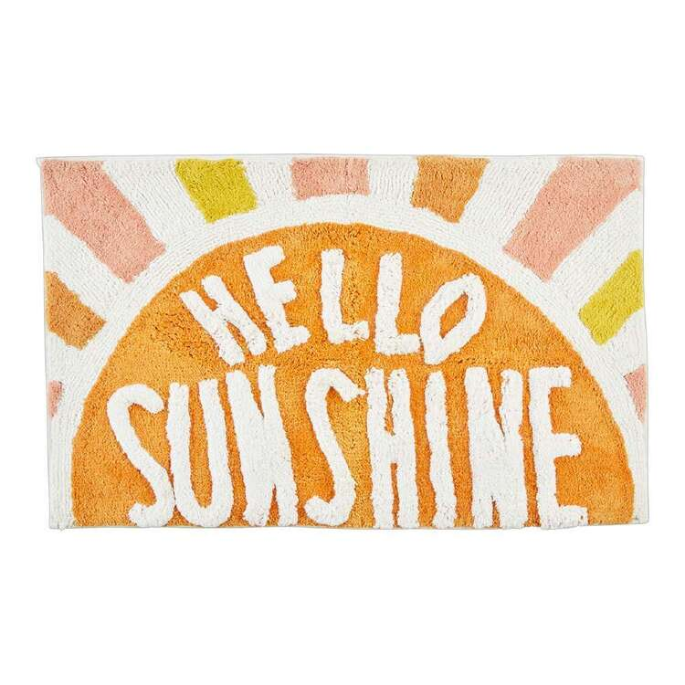 Kids House Hello Sunshine Bath Mat