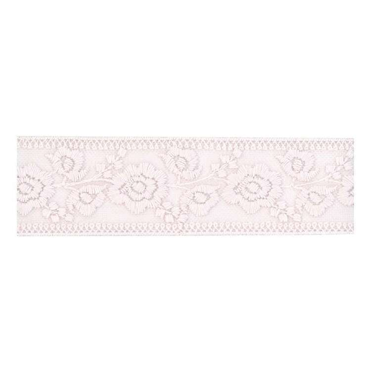 Simplicity Rose Embroidered Mesh