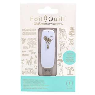 We R Memory Keepers Foil Quill Celebration USB Drive