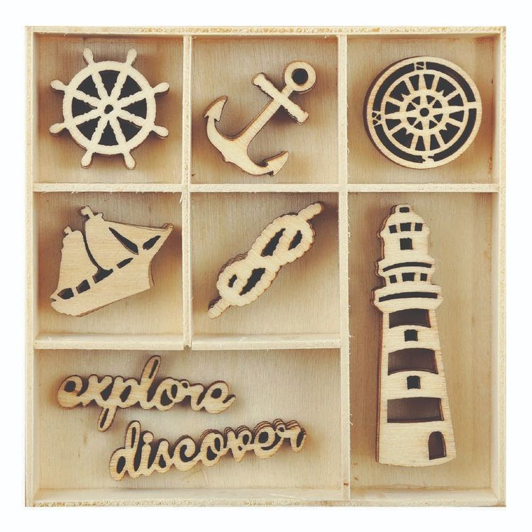 Kaisercraft Nautical Flourish Pack