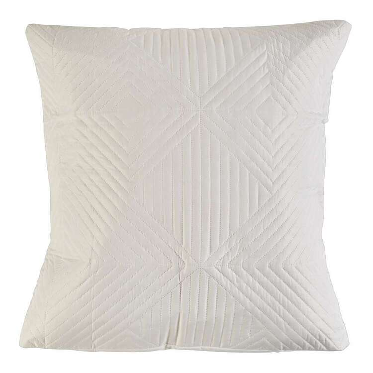 Luxury Living Luca Quilted European Pillowcase
