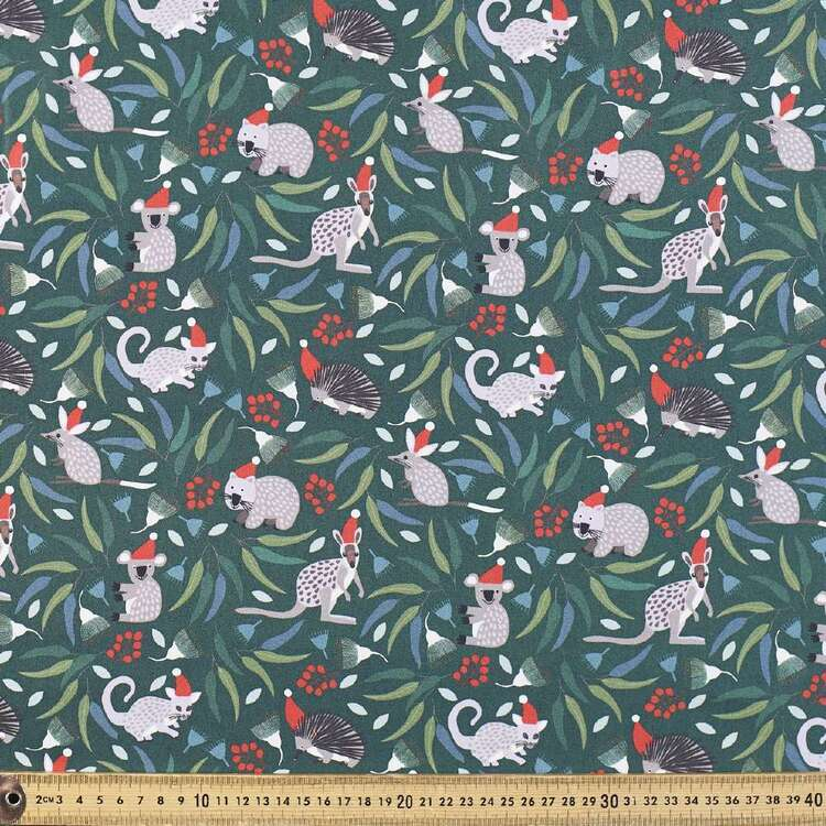 Jocelyn Proust Christmas Animals Cotton Fabric