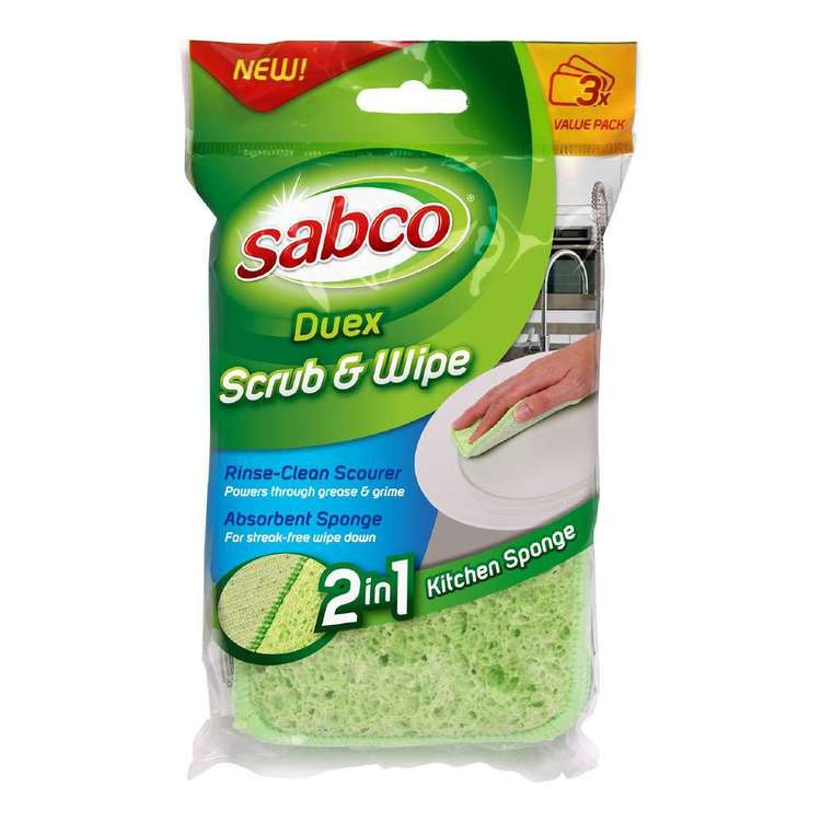 Duex Kitchen Scrub And Wipe 3 Pack