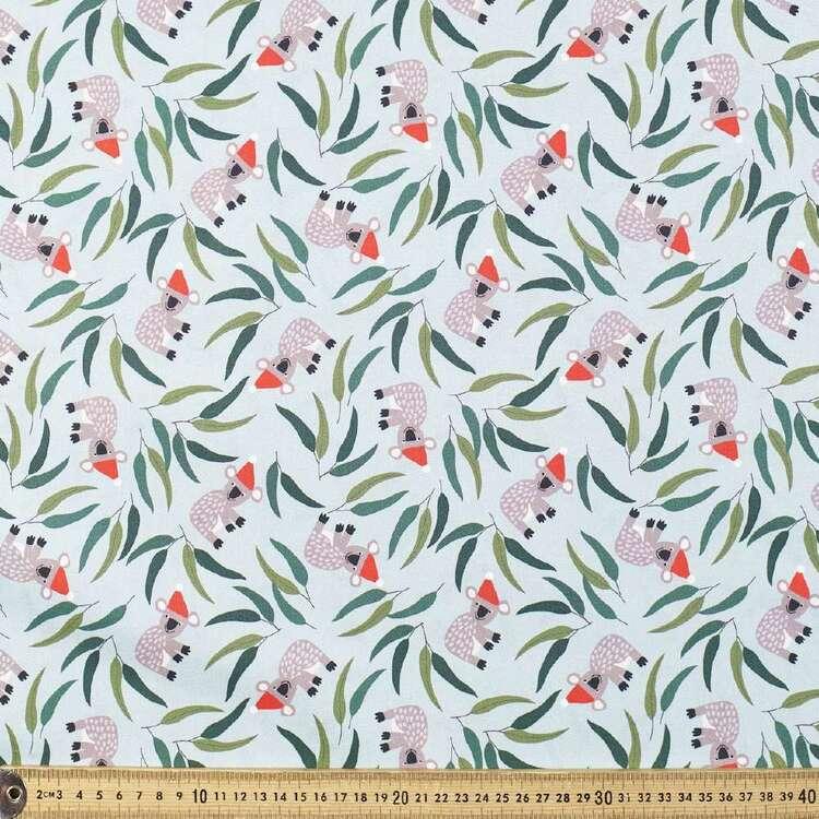 Jocelyn Proust Christmas Koala Cotton Fabric