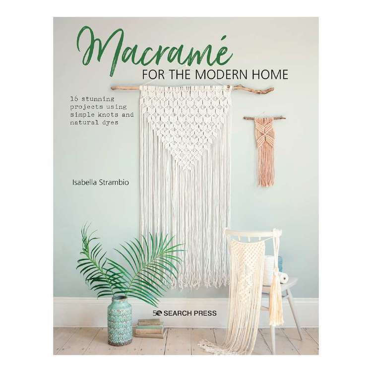 Search Press Macrame For Modern Home