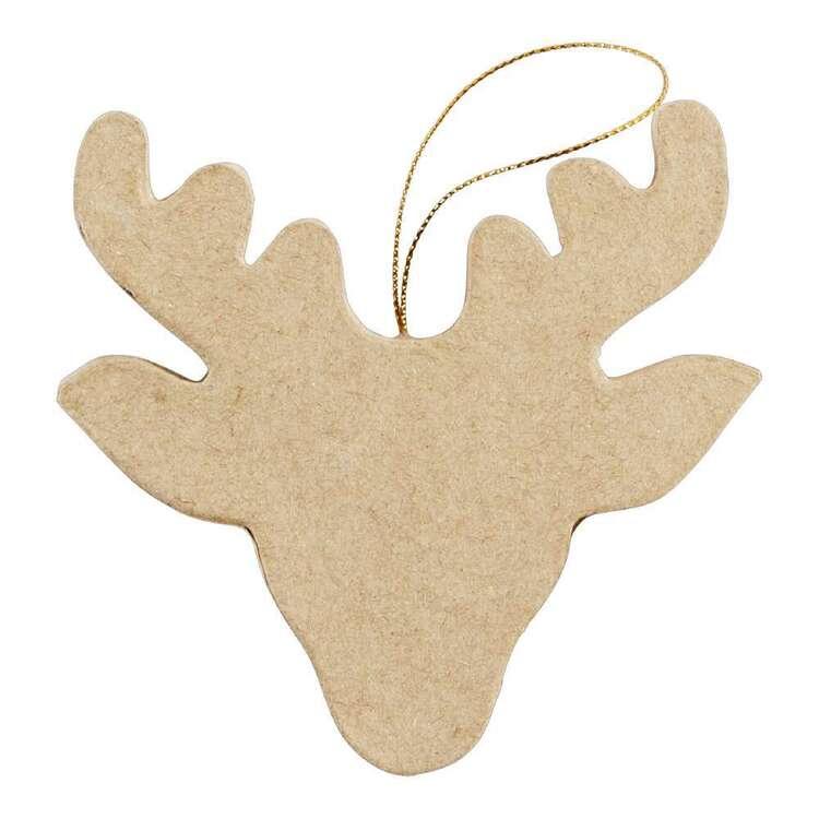 Jolly & Joy Papier Mache Reindeer 2 Pack