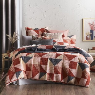 Eminence Wyatt Quilted Quilt Cover Set