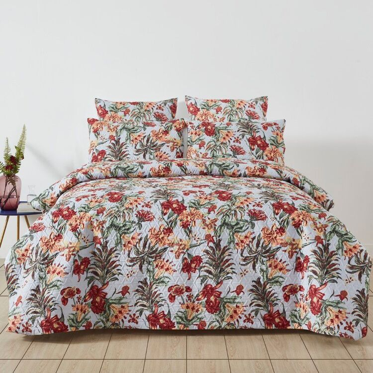 Eminence Orchid Quilted Quilt Cover Set