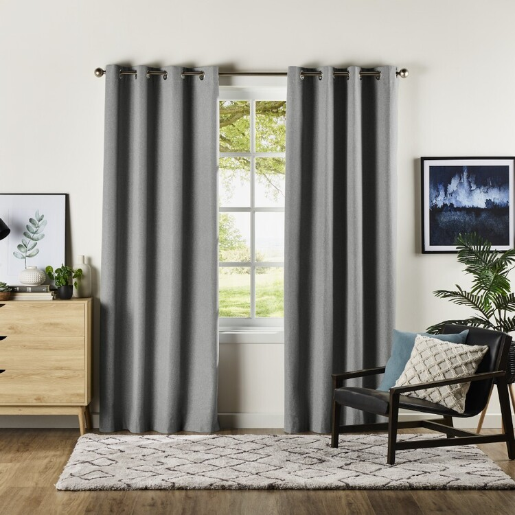 KOO Cloud Blockout Eyelet Curtains