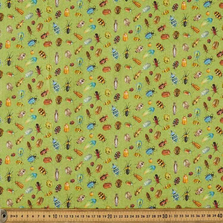 Nature Trail Bugs Cotton Fabric