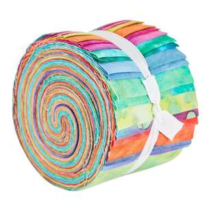 Brights Indian Batik Jelly Roll