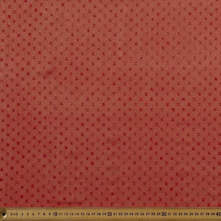 Party Play Metallic Polyester Chiffon Fabric