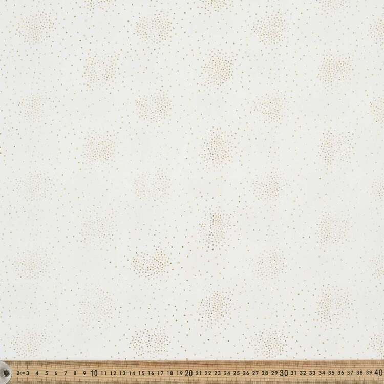 Party Play 130 cm Crinkle Polyester Metallic Spot Fabric