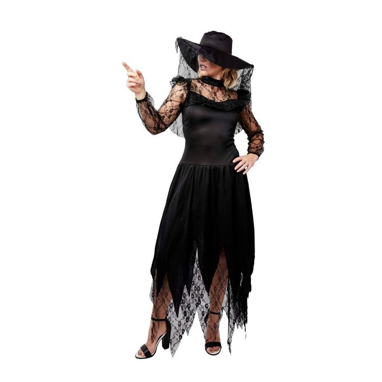 Spartys Witch Woman Costume