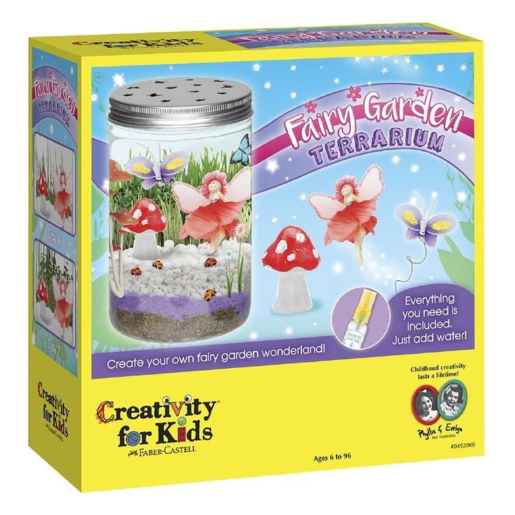 Creativity For Kids Fairy Garden Terrarium