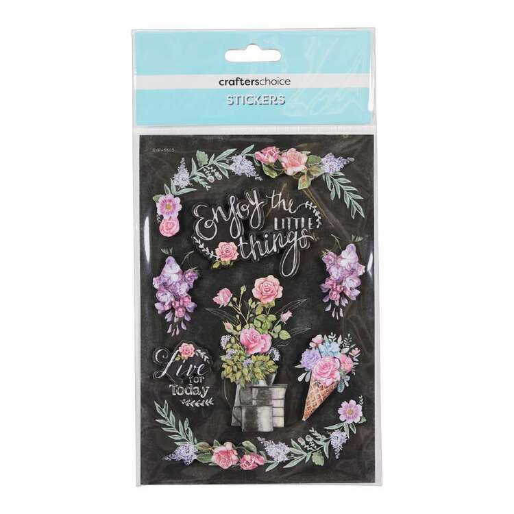 Crafters Choice Enjoy Little Things Sticker