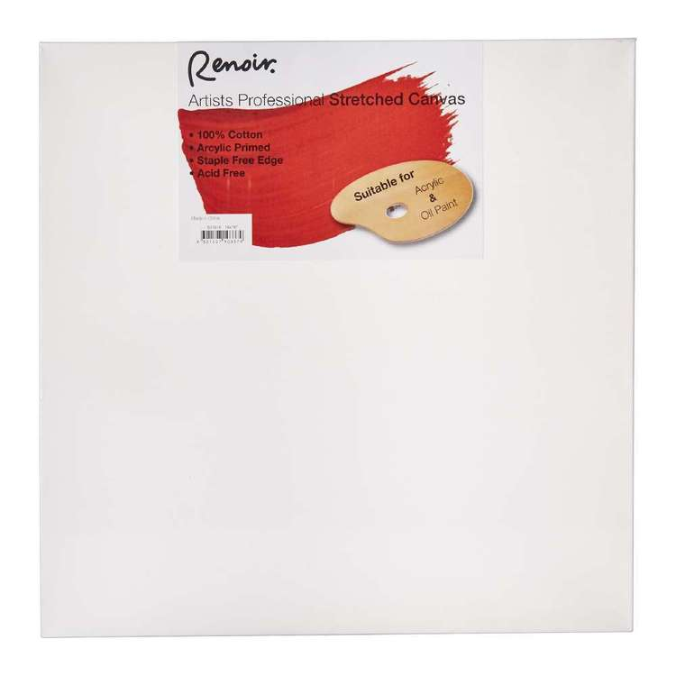 Renoir Wide Profile Stretched Canvas