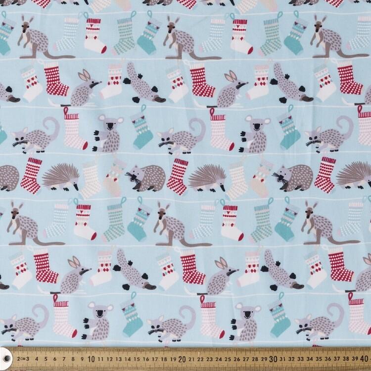 Jocelyn Proust Advent Animals & Stockings Cotton Fabric