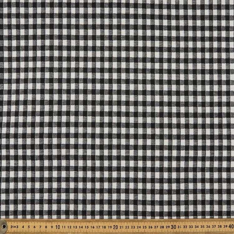 Check Printed 155 cm Jacquard Knit Fabric