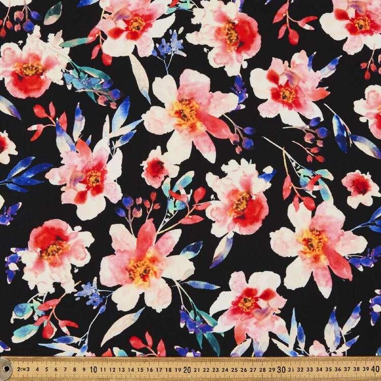 Demi Printed 148 cm Manhattan Scuba Crepe Fabric