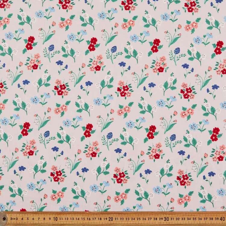 Cloud 9 Natural Beauty Flowers Cotton Fabric