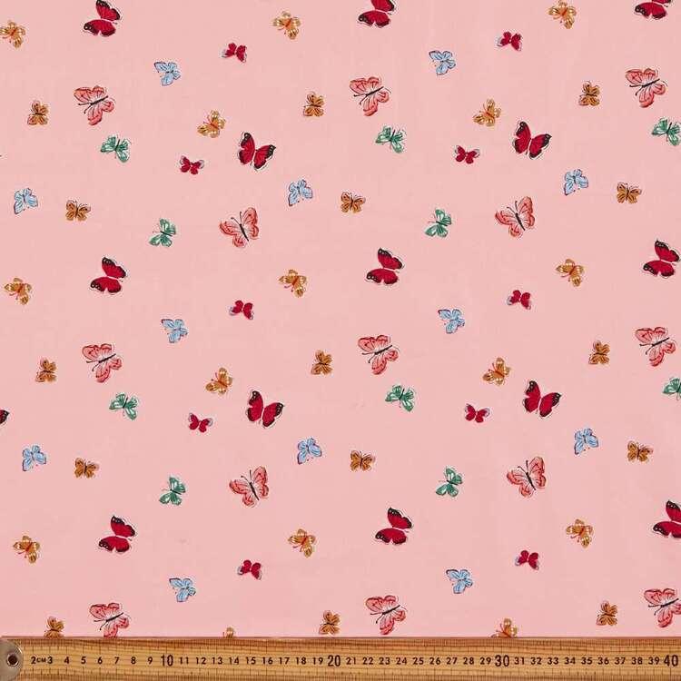 Cloud 9 Natural Beauty Butterflies Cotton Fabric