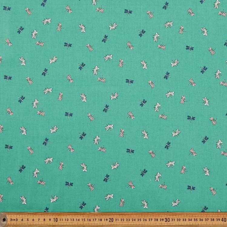 Cloud 9 Natural Beauty Dragonflies Cotton Fabric