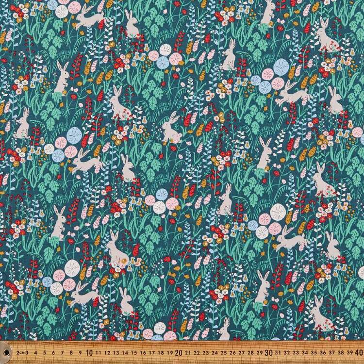 Cloud 9 Natural Beauty Rabbit Cotton Fabric