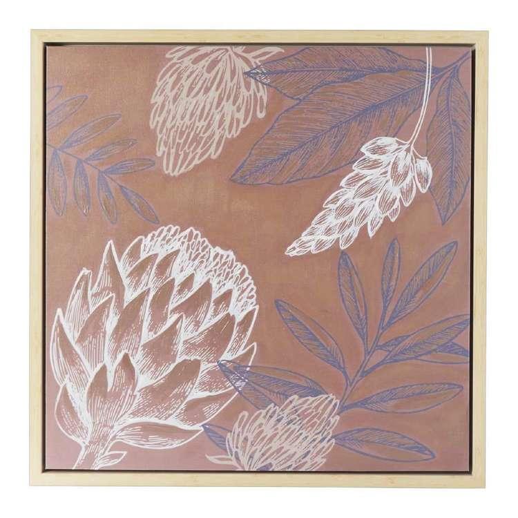 Emporium Natives Framed Canvas Print
