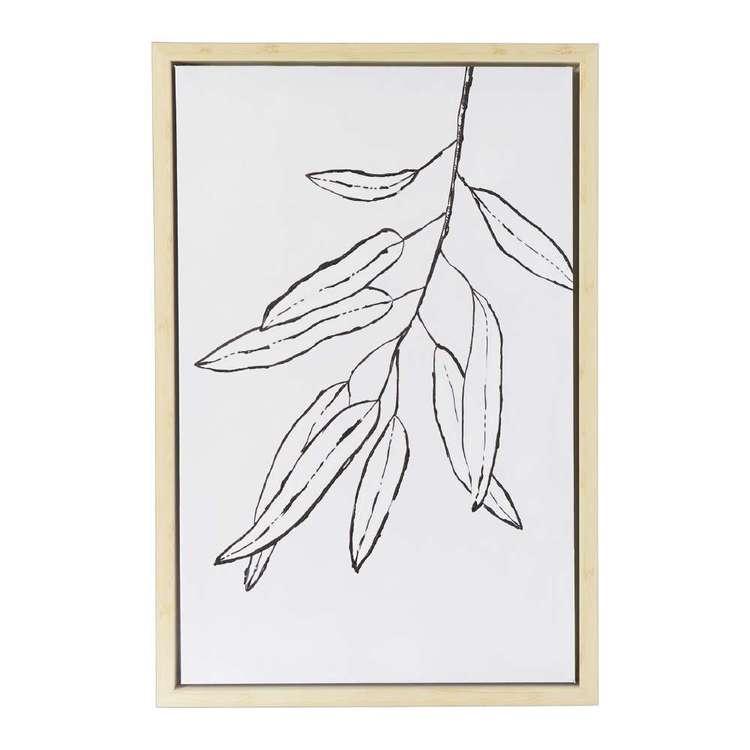 Emporium Botanic #2 Framed Canvas Print