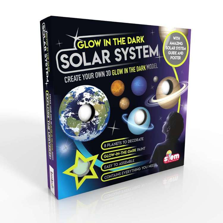Bookoli Glow In The Dark Solar System