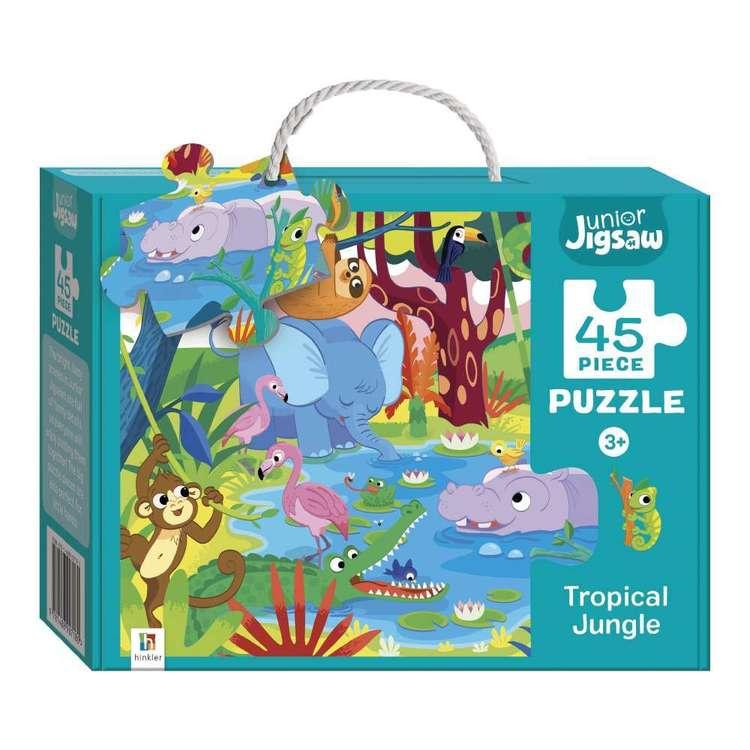 Hinkler Junior Jigsaw Series 3 Tropical Jungle Puzzle