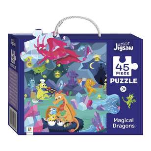 Hinkler Junior Jigsaw Series 3 Magical Dragons Puzzle