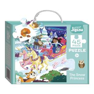 Hinkler Junior Jigsaw Series 3 Snow Princess Puzzle