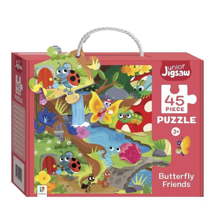 Hinkler Junior Jigsaw Series 3 Butterfly Friends Puzzle