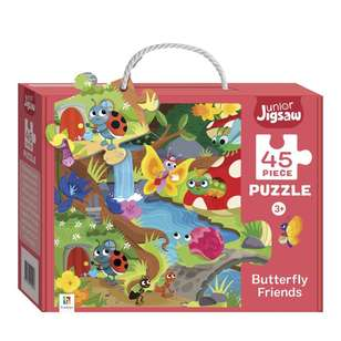 Hinkler Junior Jigsaw Series 3 Butterfly Friends Puzzle