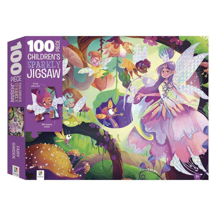Hinkler Sparkly Magical Fairy Puzzle