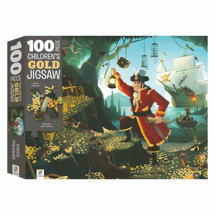 Hinkler Gold Pirate Treasure Puzzle