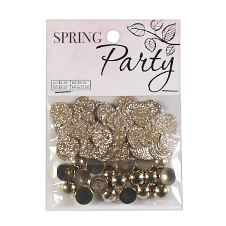 Ribtex Gold Spring Party Pack