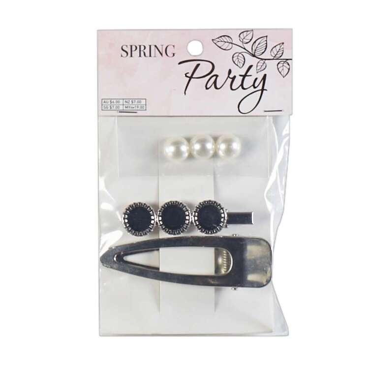 Ribtex Hairclips & Cabachon Spring Party Pack