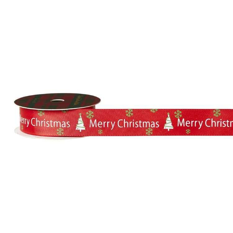 Merry Christmas Grosgrain Ribbon # 2