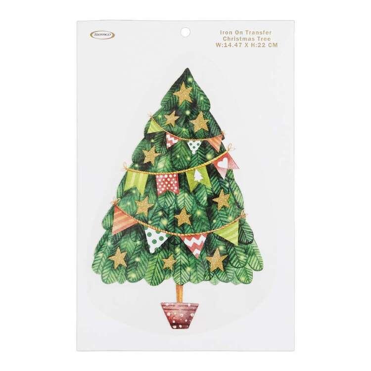 Christmas Tree Iron On Transfer