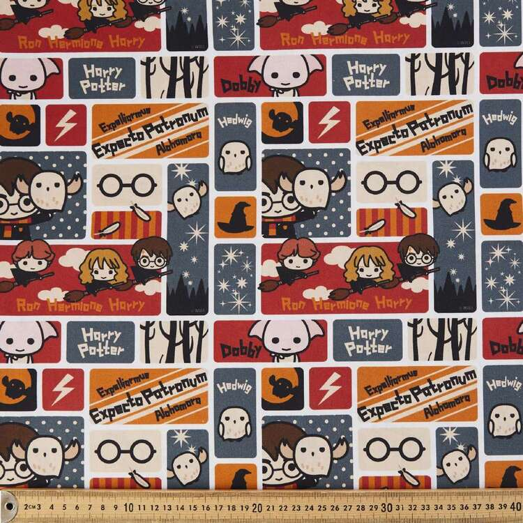 Harry Potter Characters Cotton Fabric