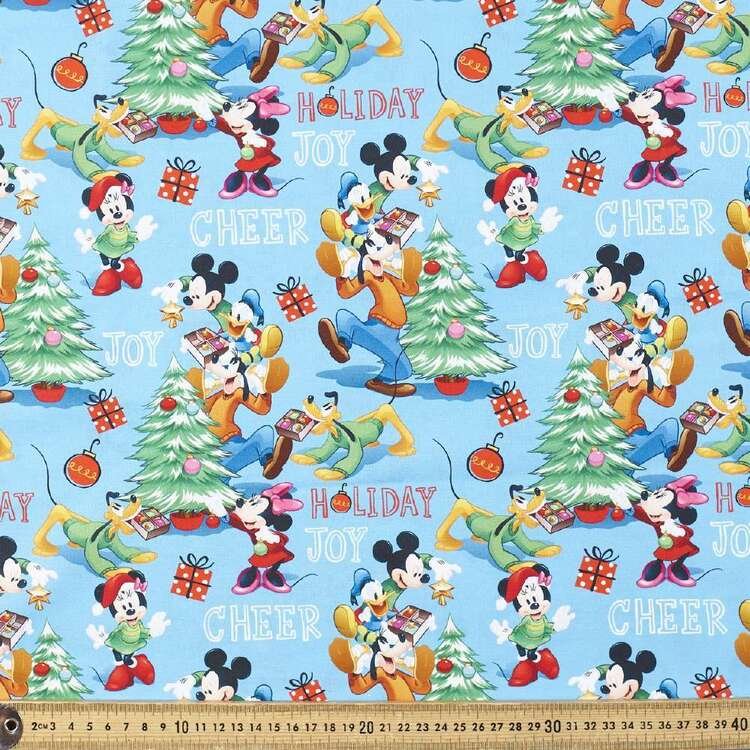 Disney Holiday Joy Cotton Fabric