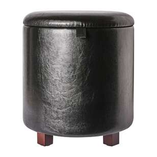 Koo Home Denver 40 cm Round Storage Ottoman